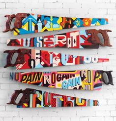 Painted Saws by Vault49 – Fubiz™