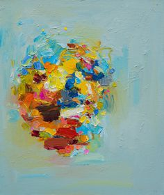 Yangyang Pan | PICDIT #abstract #color #paint #painting #art #colour