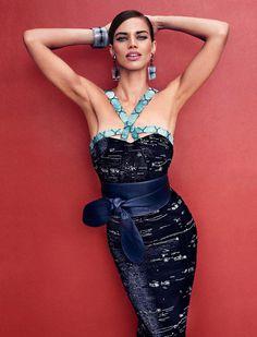 Rianne ten Haken by Xavi Gordo for Elle Spain