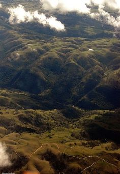 Flying from NYC to LA | Flickr - Photo Sharing! #green #mountain #landscape