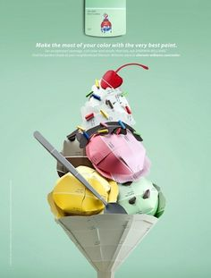 Ice Cream — McKinney #advertising print