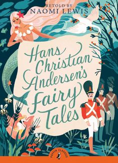 Rediscover Puffin Classics – The world's favourite stories | Creative Boom #cover #illutration #fairytale #typography