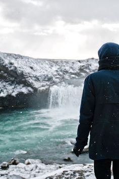 (2) Likes   Tumblr #man #island #waterfall #winter