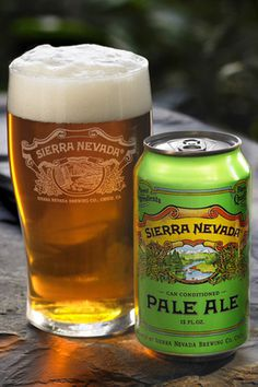 Sierra Nevada Pale Ale ~ Craft Beer Can ~ Auston Design Group