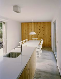E/C House by SAMI Arquitectos #ideas #kitchen #clean