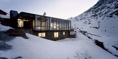 Chalet C7 | HUH. #skiing #design #architecture #location #chalet