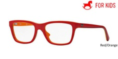 Red/Orange RayBan Eyeglasses ORY1536 - Red/Orange.