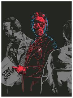 http://smitheone.tumblr.com/ #man #skull