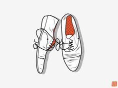 FFFFOUND! | Typcut #illustration #vector #shoes