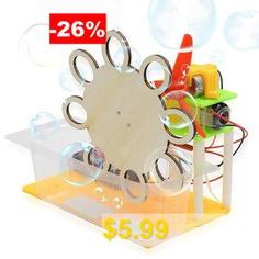 DIY #Assembled #Electric #Bubble #Toy #- #LIGHT #KHAKI