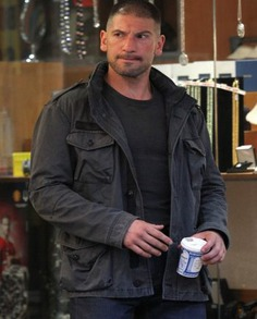 The Punisher Jon Bernthal Cotton Jacket