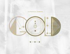 ALQUIMIA TYPE on the Behance Network #type #gold