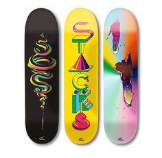 The Stacks Review #skateboard #illustration #stacks