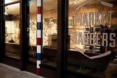 Market Street Barbers - As Ever #barber #storefront