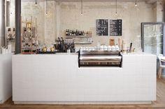 Dezeen » Blog Archive » Café Coutume by Cut Architectures #interior #paris #caf #design #coutume #industrial #architecture