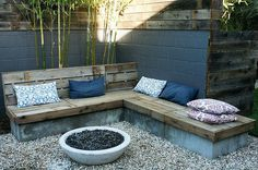 Reclaimed fence bench #bench