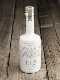 LIA Olive Oil, designed by Bob Studio