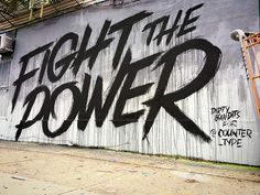Fight The Power on Behance