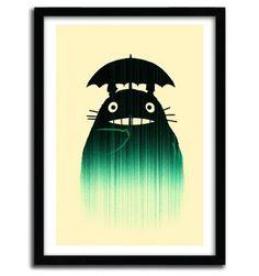 Waiting for you in the rain by Budi Satria Kwan #print #art