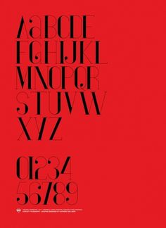 Vironica Typeface on Typography Served #red #typeface #poster #typography