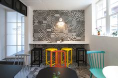 kafé Nordic by Nordic Bros. Design Community Photo #interior #design #decor #cafe #deco #decoration