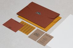 Urform Project: Misc store #envelope #branding