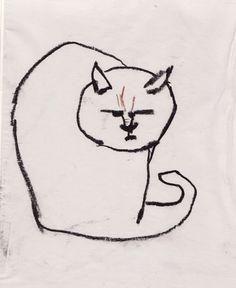 BINKUM #angry #cat #pastel