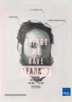 Poster Design Inspiration #graphic design #poster