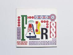 IBM Pavilion #design #vintage #typography