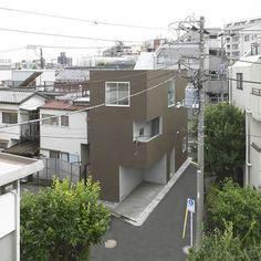 Shimouma House by Kazuya Saito Architects #houses #solid #void #architecture