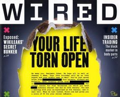 Benjamin Cohen on Technology - Shocked by Wired's knowledge of my personal information #magazine #print #editorial #wired