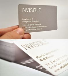 31 Creative Business Card Designs for Your Inspiration - You The Designer | You The Designer #card #design #business