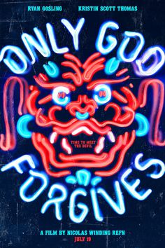 Poster: #dragon #sign #design #chinese #china #forgives #glow #poster #film #signage #god #neon
