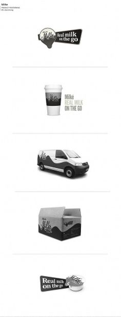 Not Just Logos on the Behance Network #packaging #milke #design #graphic