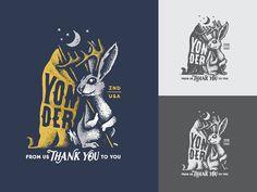 #jackalope #bunny #illustration Adam Johnson