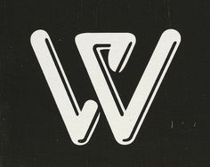 W #logo #typeface