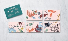Illustration in Branding – Pontus In the Air by Bold, Sweden