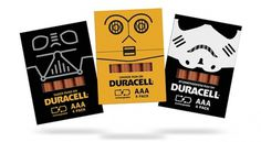 Duracell Promo Packaging on the Behance Network #packaging #duracell #wars #star