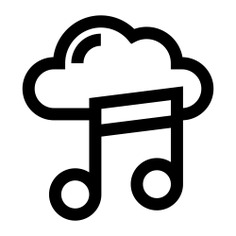 See more icon inspiration related to cloud, music cloud, music and multimedia, cloud computing, cloudy, weather and sky on Flaticon.