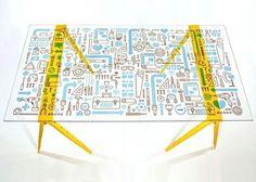 Mikey Burton / Graphic Design, Illustration and Letterpress #mikey #burton #table