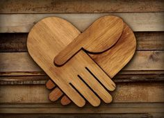 FFFFOUND! #heart #wood #icons