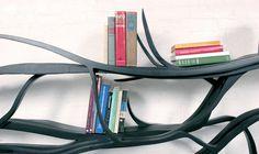 CJWHO ™ (sebastian errazuriz   metamorphosis chilean born,...) #crafts #design #books #wood #furniture #art #bookshelf