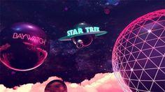"Fox Retro - Pinball | Fubizâ""¢ #saturne #pop #pink #baywatch #space #plenty #balls"