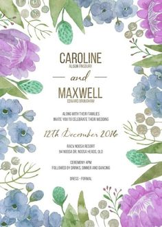 Native Bloom - Wedding Invitations #paperlust #weddinginvitations #weddingstationery #weddinginspiration #card #paper #design #foilstamped