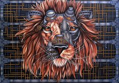 Steampunk lion
