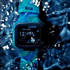 Marbleized Supertide Watch by Nixon #tech #flow #gadget #gift #ideas #cool