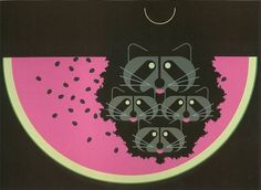 2010 Charley Harper Show at Fabulous Frames & Art « Fabulous Frames & Art Blog #charley #illustration #design #harper