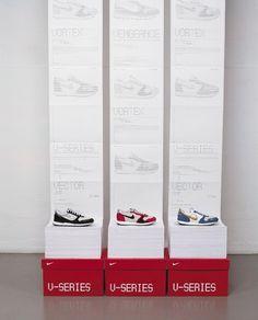 Spin: Nike V-Series | September Industry #advertising #print #illustration