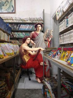 Napoli Project: Alexey Kondakov Blurs Lines Between Classical Paintings and Real Life