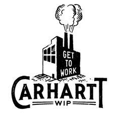 Carhartt DAN CASSARO YOUNG JERKS Design/Animation/Illustration #type #logo #mark
